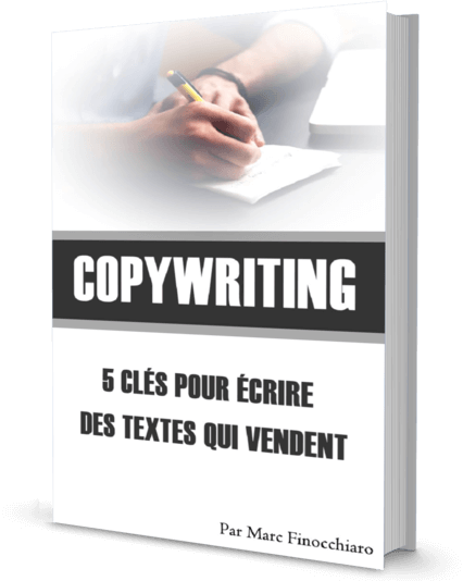 Ebook offert - 5 clés du Copywriting